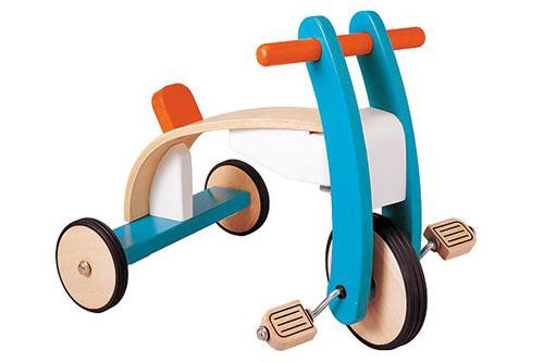 Juguetes de madera 2: mecer y andar