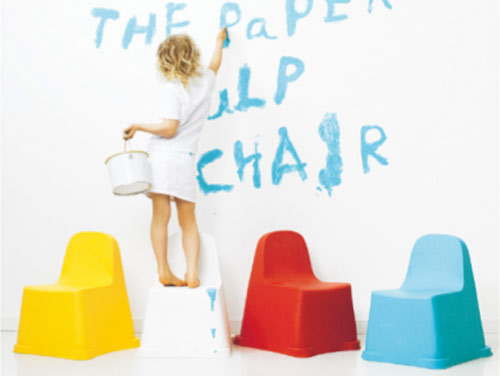 Paparu - Paper Pulp Chair (Papel + PLA)