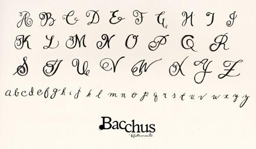 Tipos de letras bonitas para escribir a mano abecedario - Imagui