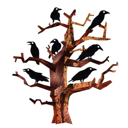 Cuervos por Jonathan Woodward