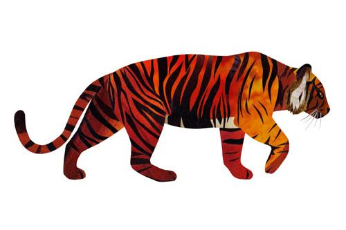 Tigre de Jonathan Woodward