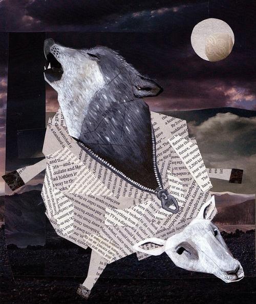 Lobo en ropas de oveja